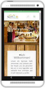 mobil-website Hotel Barmsee
