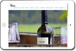 Homepage auf Ipad